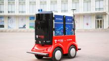 BATJ皆入局 配送机器人掀起快递末端新风口