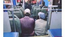 温州公交车上一张偷拍照火了!大家看完都说:这是最美的背影!