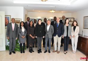 大中华区艾菲走进加勒比海,携手7位驻华大使拓展国家营销新思路