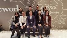 成都金牛区走进大中华区艾菲 共同探讨未来的合作与发展