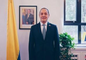 哥伦比亚驻华大使路易斯·蒙萨尔韦加入2020艾菲国际论坛